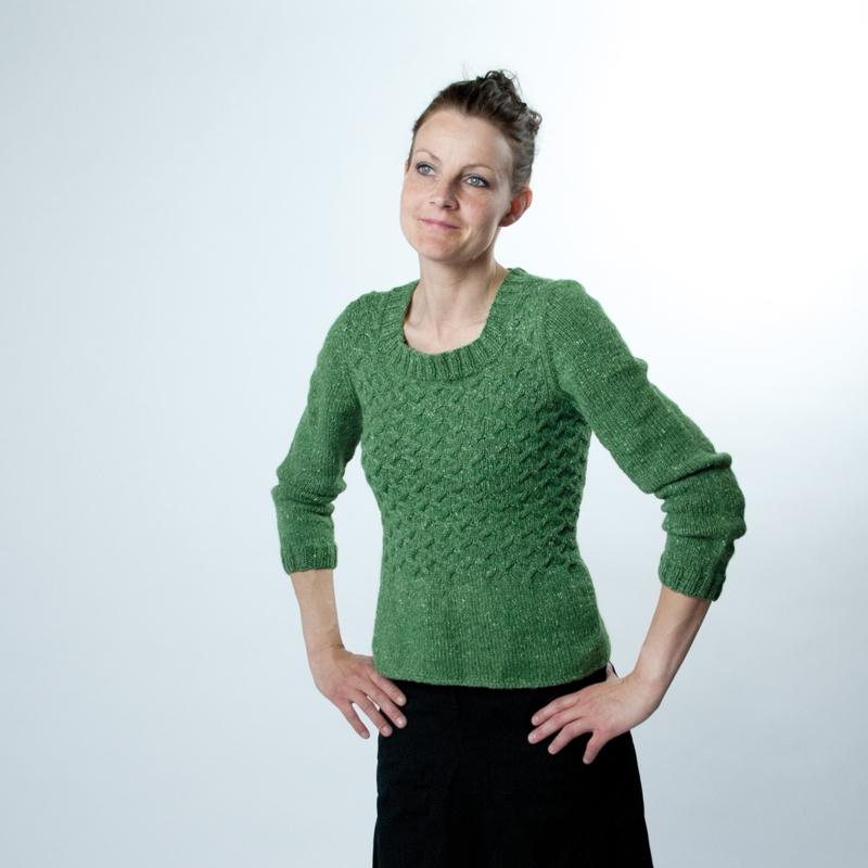 Verde-sweater