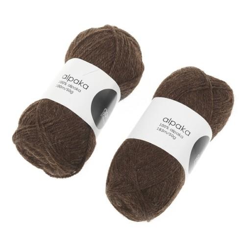 alpaca-garn-chokoladebrun