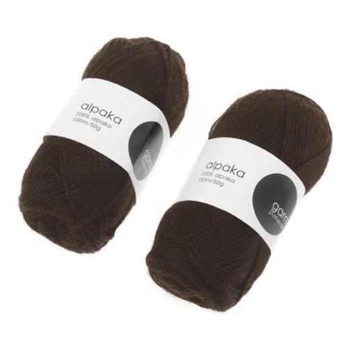 alpaca-garn-morkebrun