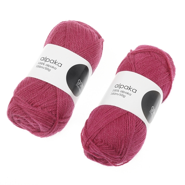 alpaca-garn-pink