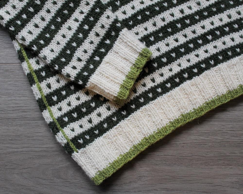 Kattegat-strikkekit-retrofarve-groen