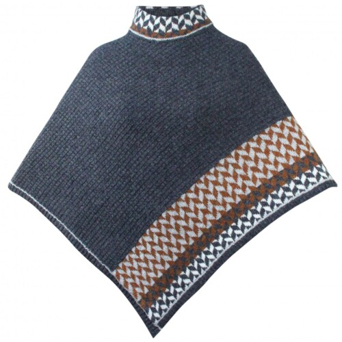 Caroline poncho strikkekit