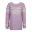 Hallom garnkit i lyserød - model designet af Hanne Rimmen