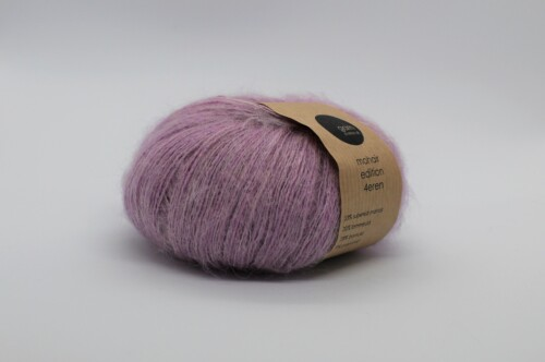 Mohair edition 4eren garn dusty rose gammel rosa