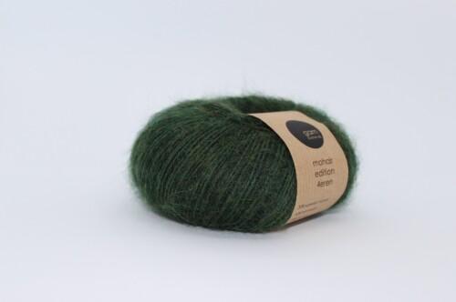 Mohair Edition 4eren garn forest grøn
