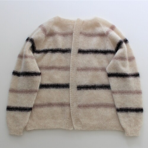 Sorbetty cardigan brun