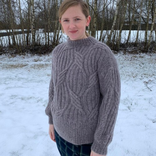 Stines sweater fra Vaskavulla Knit
